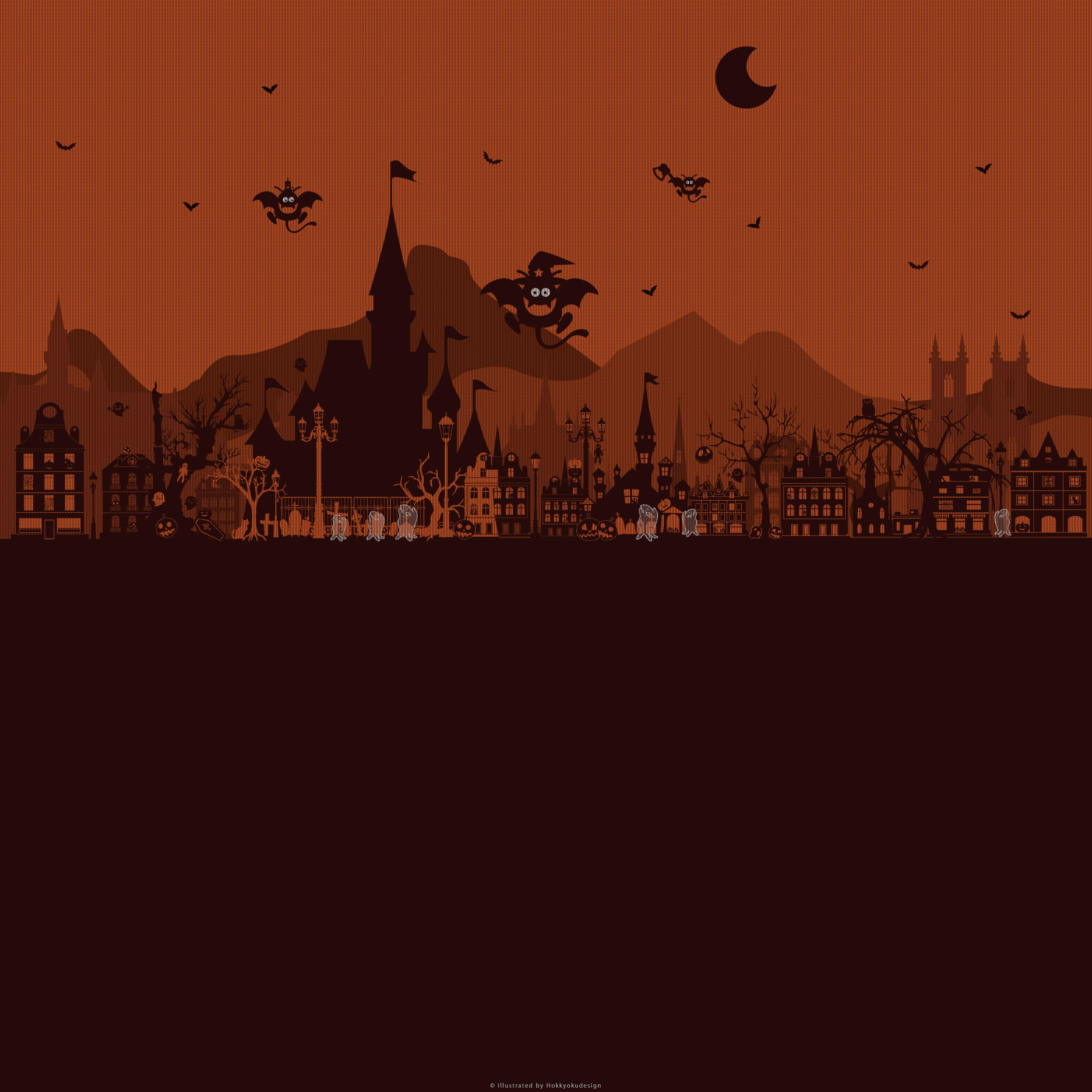 ハロウィン壁紙 ハロウィンタウンの恐怖これがハロウィン Halloween Wallpaper Iphone Android Pc