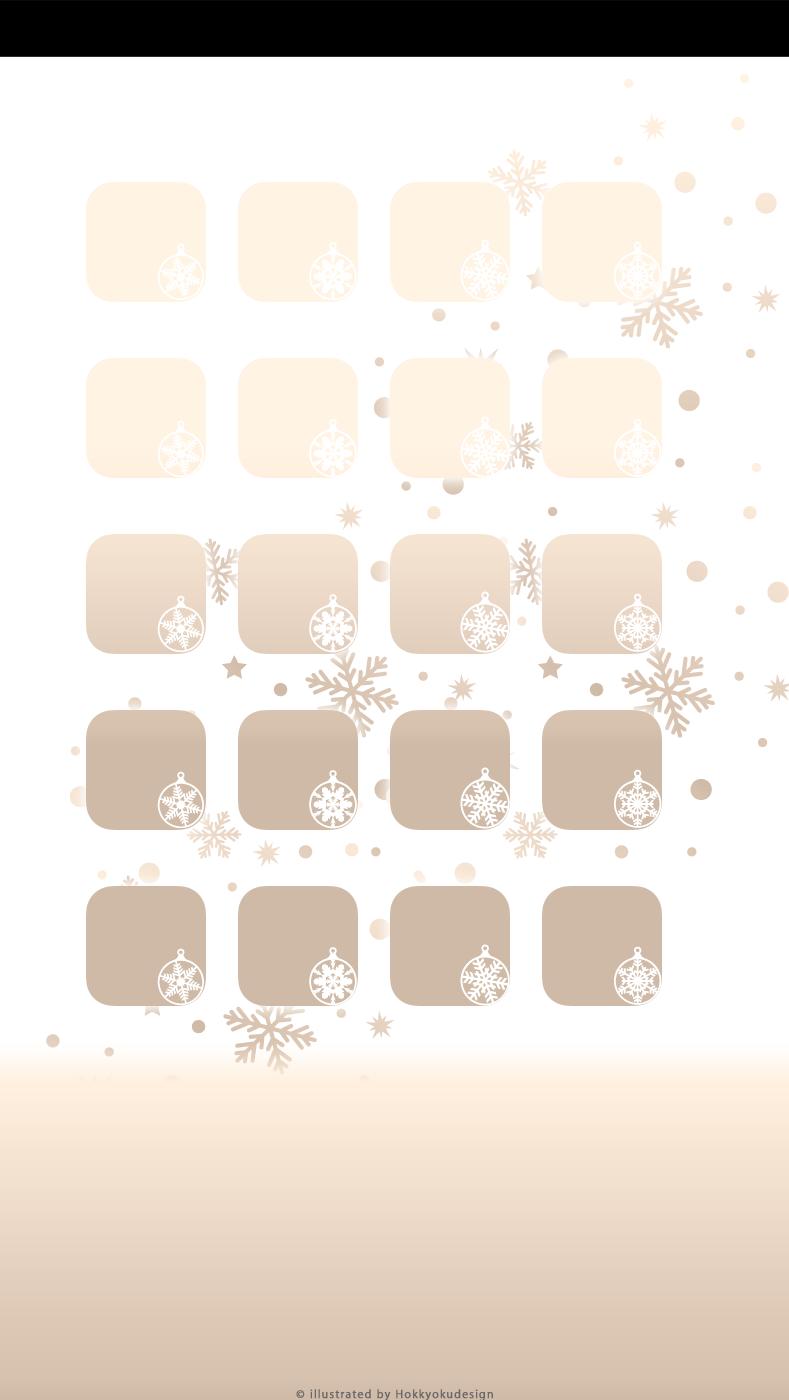 Iphone5 5s 5c専用 ドックにグラデーションが出る棚の壁紙 Snowball Gold Gradient Wallpaper Iphone5 5s 5c Only Shelf Type Wallpaper