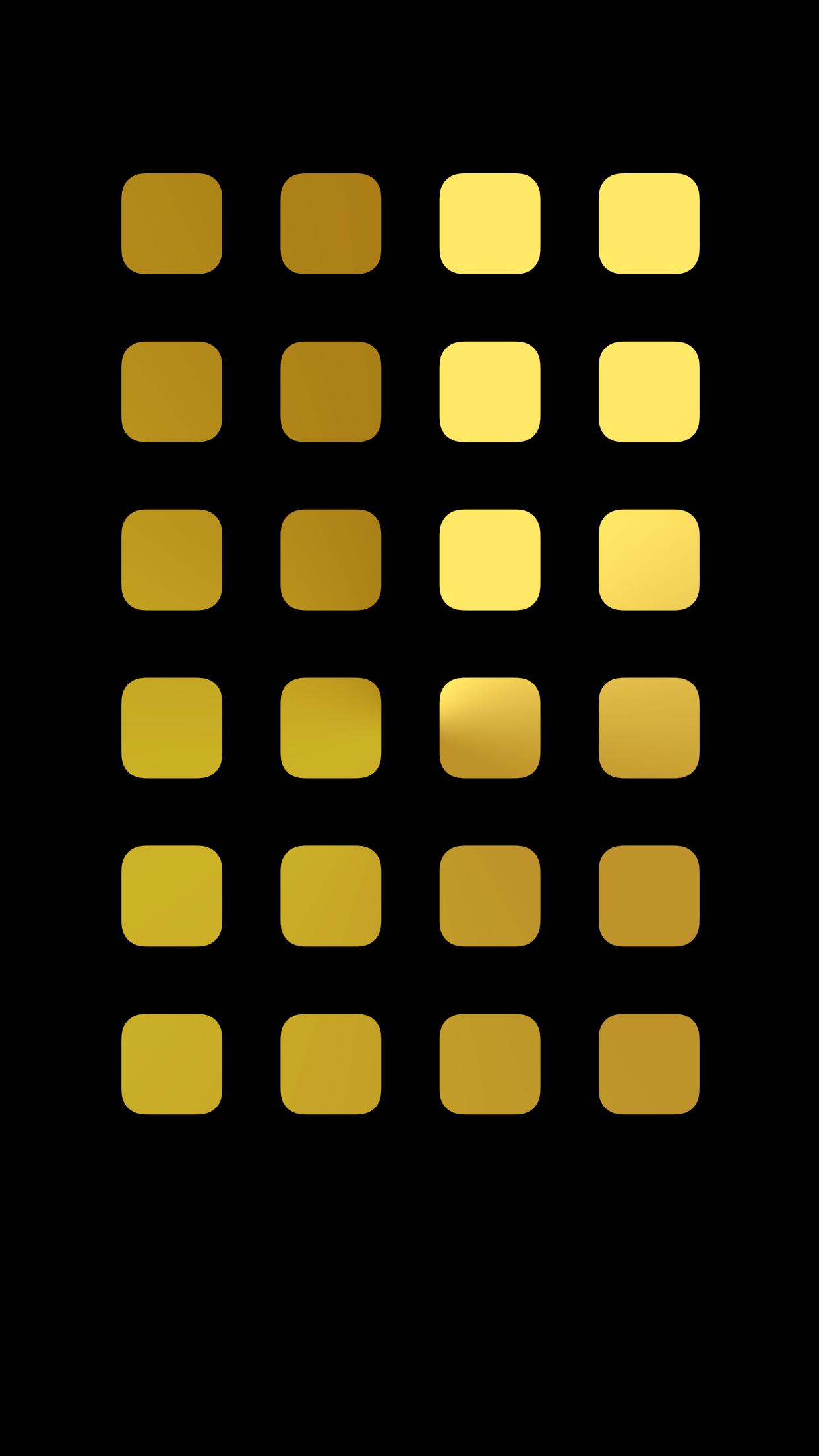 Iphone6 Plus棚の壁紙 ブラックゴールド Black Gold Wallpaper To Iphone6 Plus Shelf Type Wallpaper