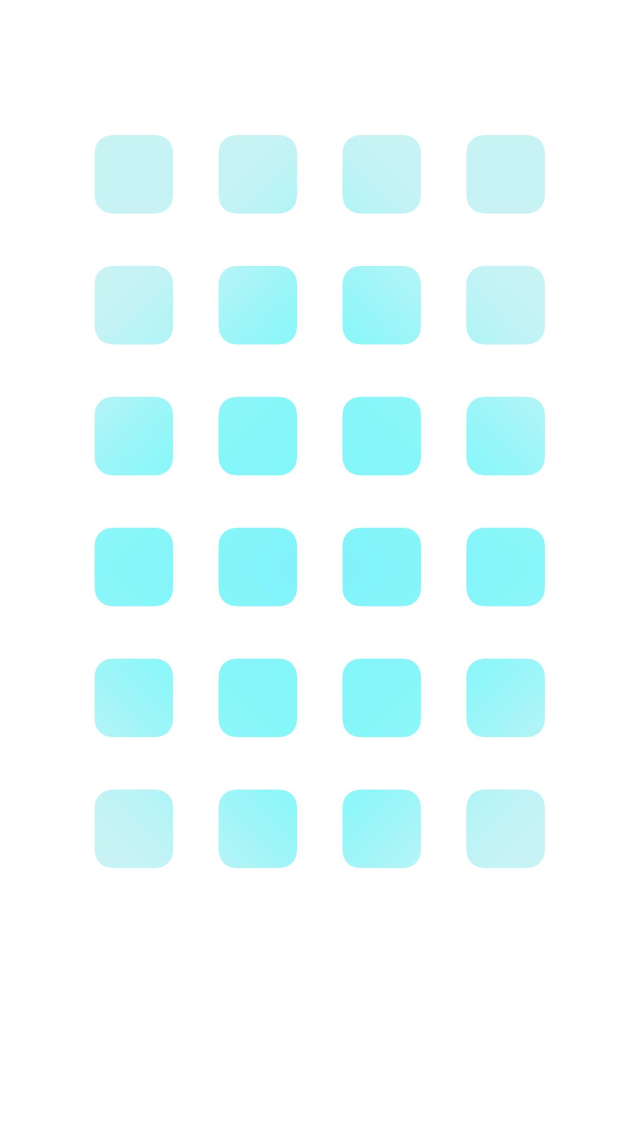 iPhone6 Plus 動く棚の壁紙 スカイブルー