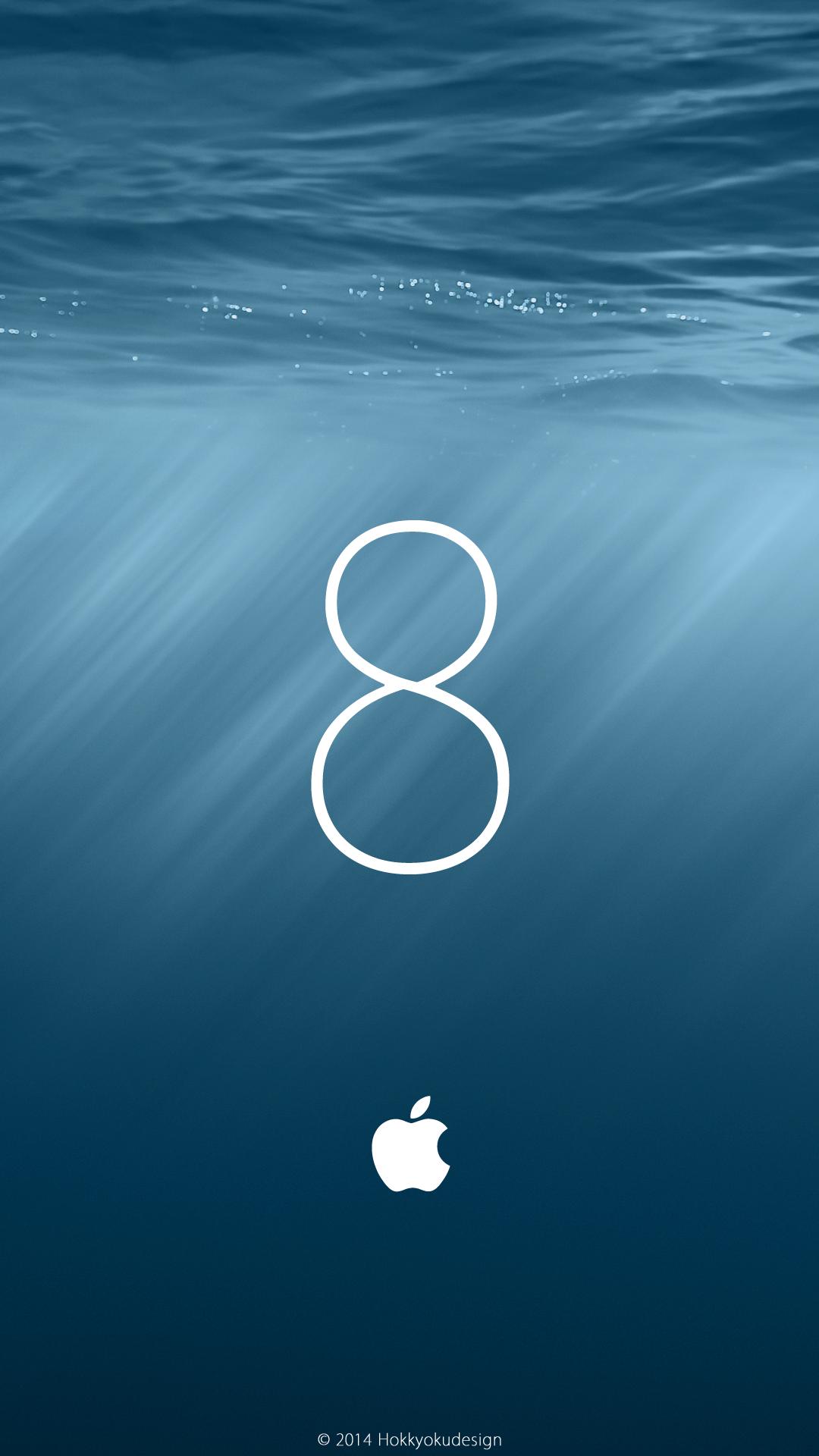 HDサイズ壁紙 iOS8