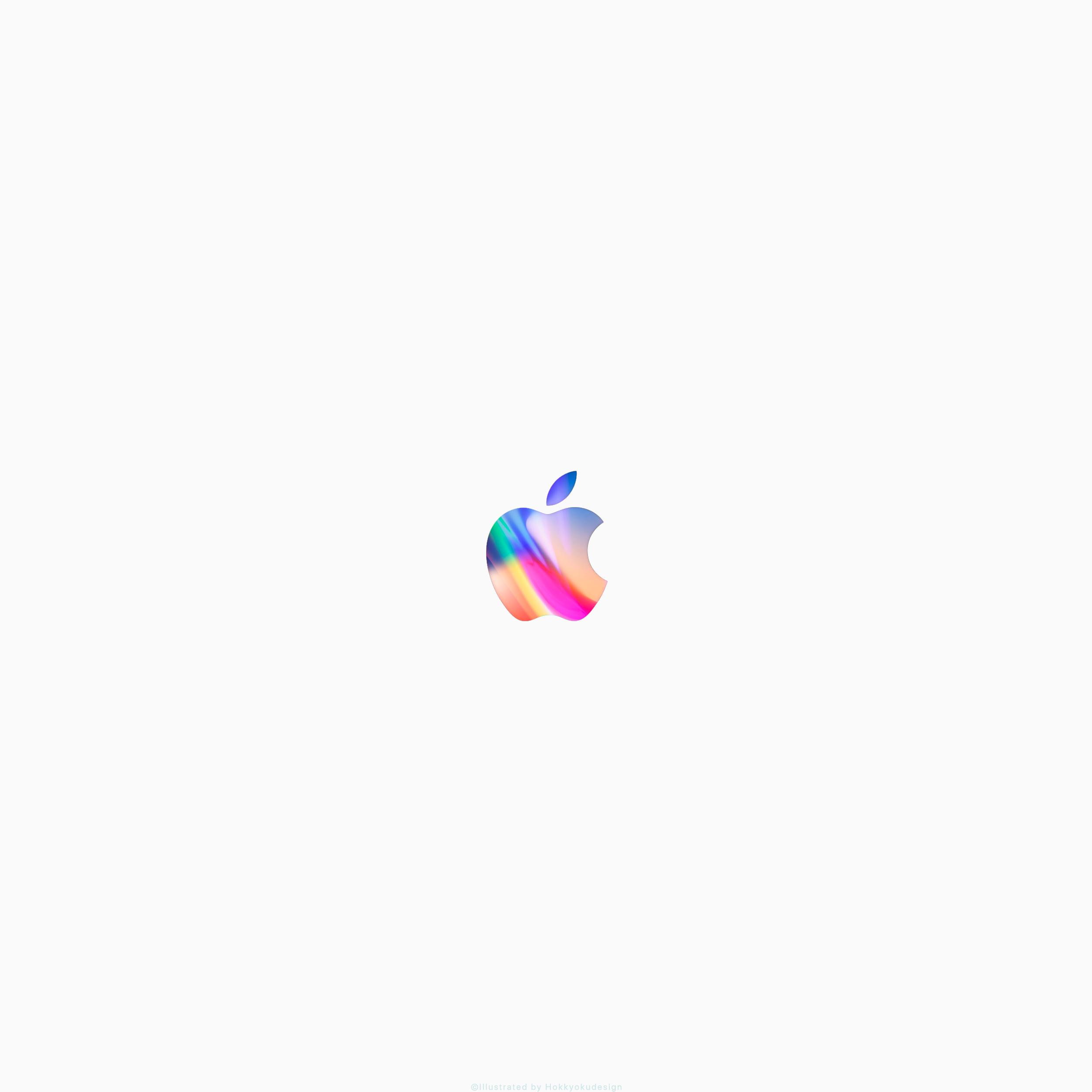 Iphone X 8 8plusと全iphone壁紙 Appleマーク3 Apple Wallpaper For