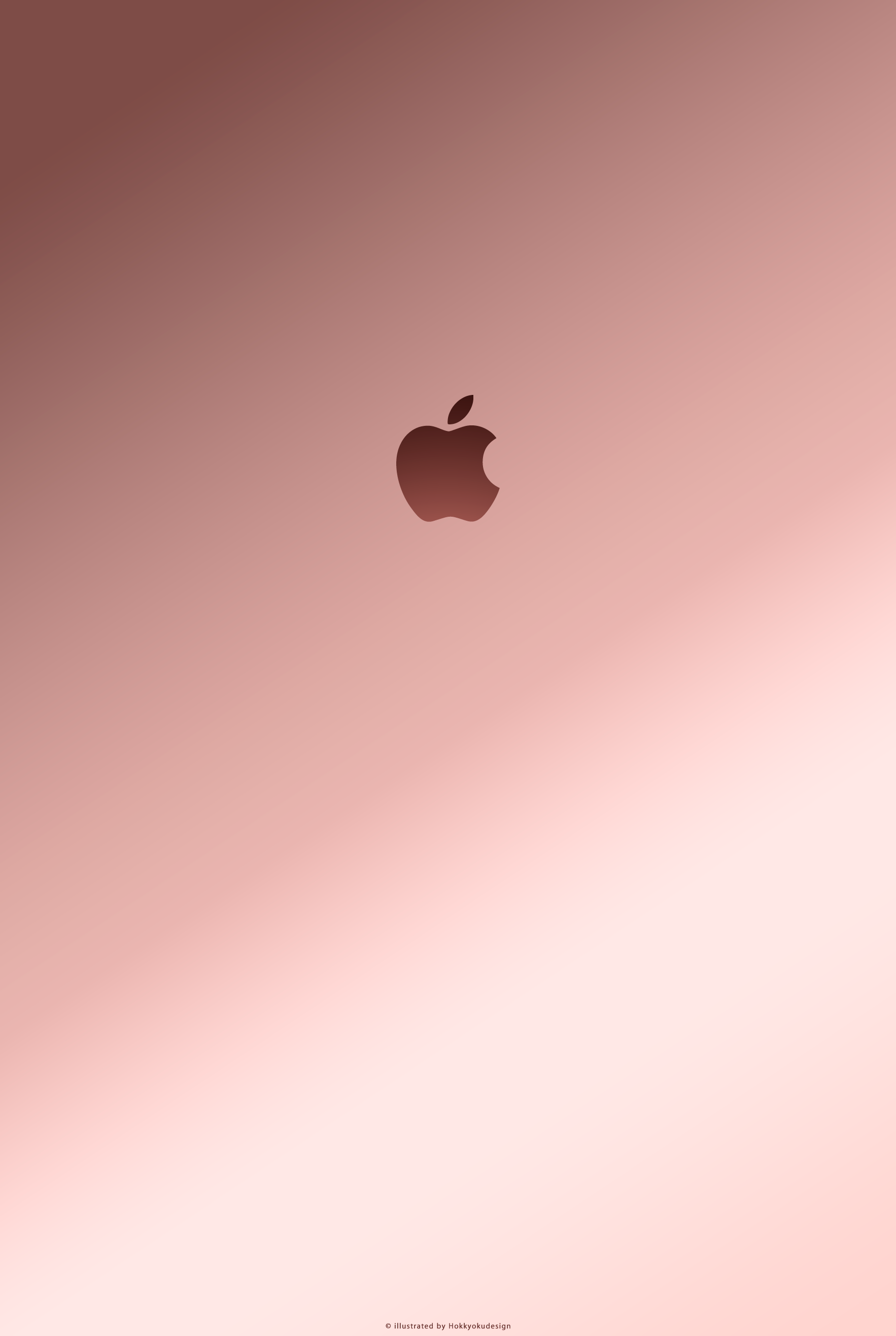 Iphone、ipad壁紙 Quot Rose Gold With Apple2 Quot Rose Gold Wallpaper