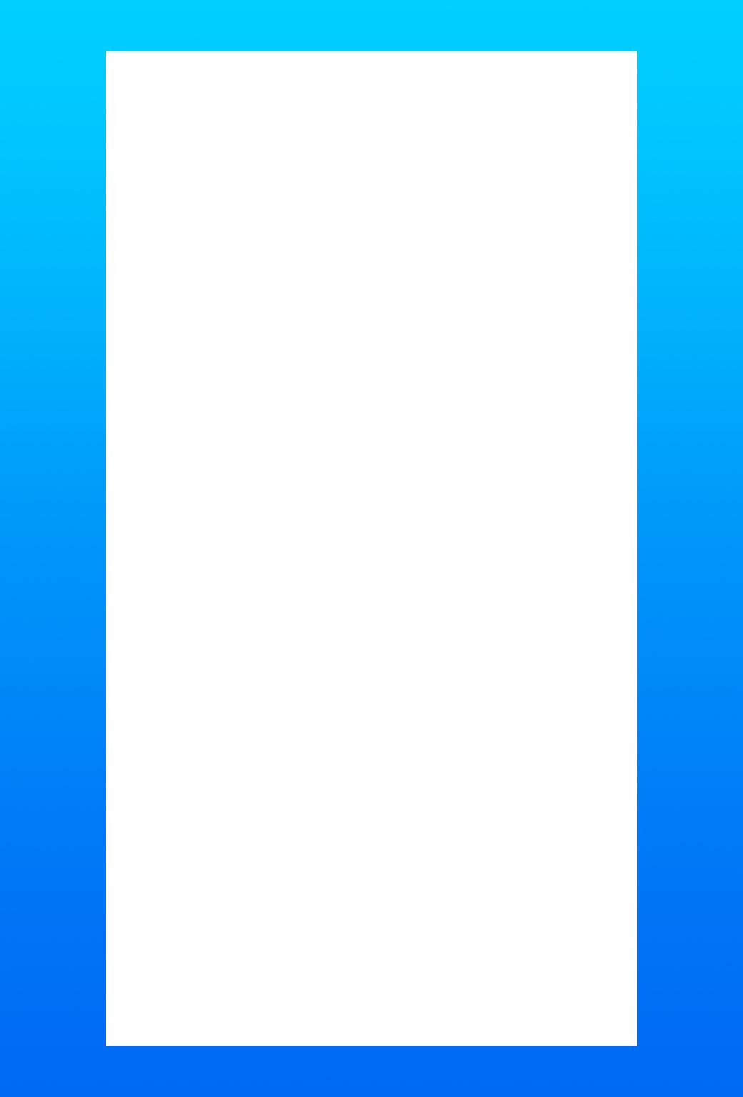 Ios11 Iphone棚壁紙 ドックが消える青グラデーション壁紙 Wallpaper